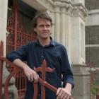 Visiting sociologist Prof Nathan Hughes, outside the Dunedin District Court. PHOTO: LINDA ROBERTSON