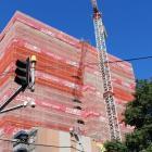 Wellington's Dixon Street apartments, an Arrow International building project. Photo: RNZ