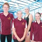 Fiordland Amateur Swimming Club swimmers who participated in the recent South Island Town and...