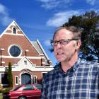 Heritage developer Stephen Macknight outside the Maori Hill church he says should be saved from...