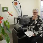 Life Matters Suicide Prevention Trust chairwoman Corinda Taylor sits in the new Hope Centre which...