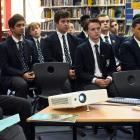 David Parker at Otago Boys High School. PHOTO: LINDA ROBERTSON