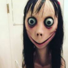 The Momo character which is said to have appeared in YouTube videos. Photo: Supplied via RNZ