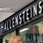 Hallensteins provided strong profit growth. Photo by Peter McIntosh.
