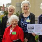 Mary Toogood (left), Elizabeth Baggott, Shirley Hackett, Eileen Ross and Margaret Fletcher ...