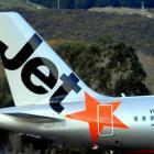 Jetstar says the Dunedin-Wellington service isn't performing as hoped. Photo: ODT files