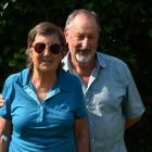 Lynn Keogh with husband and carer Kevin. PHOTO: CRAIG BAXTER