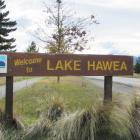 Lake Hawea hangs out the welcome sign. PHOTO: MARK PRICE