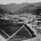 The city of Nelson, with Anzac Square in the foreground. - Otago Witness, 19.3.1919.