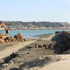 Oamaru's Heritage New Zealand category 1 1872 breakwater will be reinstated this month. PHOTO:...