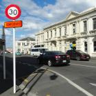 Part of Itchen St in Oamaru is one of about 20 roads that may have speed limits reduced under a...