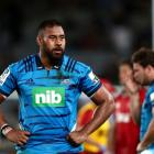 Blues and All Blacks lock Patrick Tuipulotu has re-signed with NZ Rugby. Photo: Getty Images
