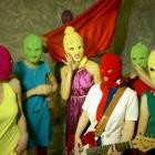 Russian activist punk band Pussy Riot will play in Dunedin next week. PHOTO: IGOR MUCHIN