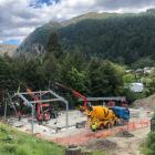 Construction of a new kiwi house is under way at Kiwi Birdlife Park in Queenstown.