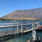 Queenstown's new marina is taking shape. PHOTO: PAUL TAYLOR