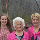 Structural engineer Millie Alexander (left), her grandmother Grace Hughes and mother Glenda...