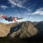 Still strength in Otago's tourism and agricultural sectors: pictured AJ Hackett Bungy's Nevis...
