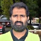 Academic Dr Mohammed Rizwan has travelled to Christchurch with about 20 others from Dunedin, to...