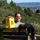 Chain Hills Community Trapping Project founder Rebecca Guest has used Timms traps to dispatch...