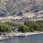 The rampant rate of visitors to Wanaka has slowed, and numbers are now nearly the same as last...