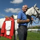 With his riding jacket ironed and a borrowed horse, Wanaka A&P Show life member Tussock Lucas...