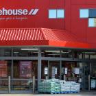 Sales at The Warehouse's red sheds were flat during first-half trading. Pictured: the South...