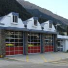 The Queenstown Fire Station in Isle St. PHOTO: ODT FILES