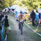 Mixed team competitor Daniel Lewis on the home stretch during Saturday's Naseby 12 Hour Challenge...