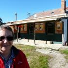 Lawrence Chinese Camp Charitable Trust chairwoman Adrienne Shaw stands outside the site's Chinese...