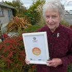 2017 civic award recipient Ivy Grant, of Balclutha, is pleased Clutha District Council is...