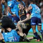 Chiefs lock Brodie Retallick has given the All Blacks another injury scare. Photo: Getty Images