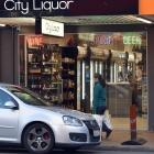 The store is fighting to keep its off-licence. Photo: Peter McIntosh
