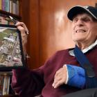 Dunedin resident Fred Burton (93), who used to scavenge parts from the old landfill now buried...