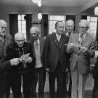 They are (from left) Bob Needs (Oamaru), John Skinner (Dunedin), Alec Brown (Dunedin), Harold...