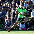 Josh McKay during a pre-season friendly against the Waratahs in Alexandra. Photo: Getty Images