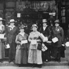 Collectors for the Hospital Helpers' Association's street appeal in Dunedin. - Otago Witness, 2.4...