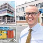 Health Minister David Clark's decison to fast-track the new outpatients and day surgery block...