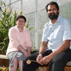 DCC community development and events manager Joy Gunn and Otago Muslim Association chairman...