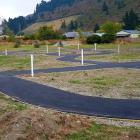 Construction on the Kurow learn-to-ride bike park is nearing completion. It is expected to be...