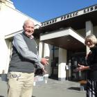 Waitaki district libraries manager Philip van Zijl and deputy libraries and community services...