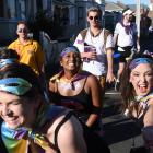 Revellers set to party all day at the Hyde St Party. PHOTO: GREGOR RICHARDSON