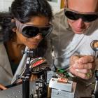 Dr Madhuri Kumari.(left) and Dr Harald Schwefel. Photo: Supplied