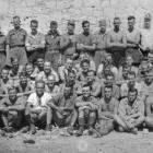Allied prisoners of war at Aquafredda work camp. Photo: Alexander Turnbull Library