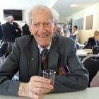 Arrowtown's only remaining resident World War 2 veteran, Allan Fisher (94), at the Arrowtown...