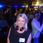 Queenstown Winter Festival director Rae Baker on board TSSEarnslaw last night during a silent...