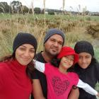Mahraaz and Susana Hussein are enjoying the North Canterbury lifestyle with their daughters...