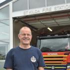 St Kilda senior station officer Ben Pitelen outside his fire station, where unattended cooking...
