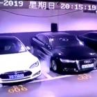 """The video was widely shared on China's Twitter-like Weibo, with the hashtag """"Tesla self-ignites"""" becoming one of the most-read topics on the platform, being viewed over five million times. Photo: Twitter"""