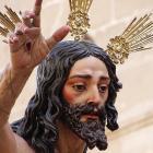 A lifelike effigy of Jesus from La Resurreccion. Photos: Kerrie Waterworth