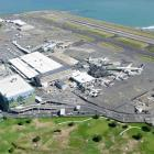 An aerial photo of Wellington Airport in March. PHOTO: SHANE SAHEEM